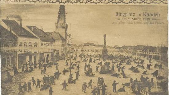 Kadaň (pohlednice)