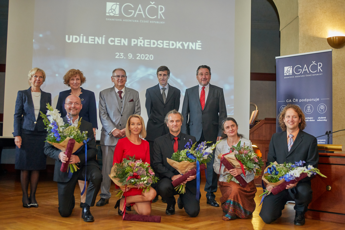 GACR Presidency member and awarded scientists 2020