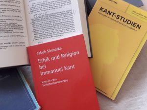 Kniha J. Sirovátky: Ethik und Religion bei Immanuel Kant