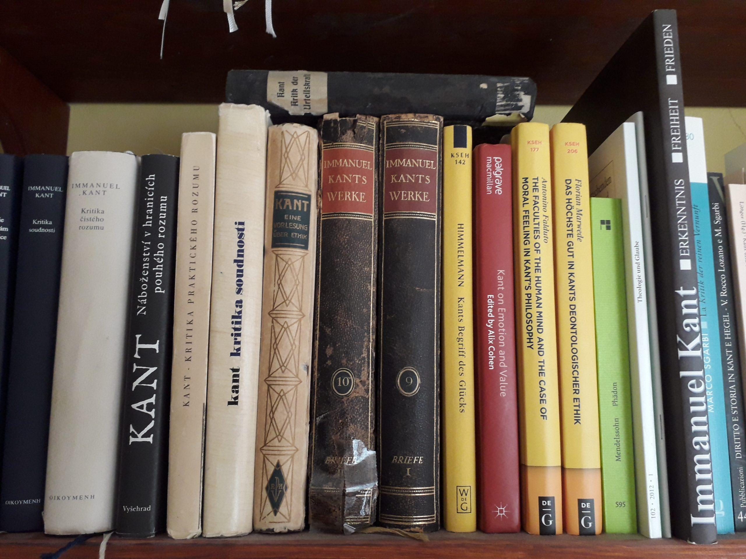 Knihy - I. Kant
